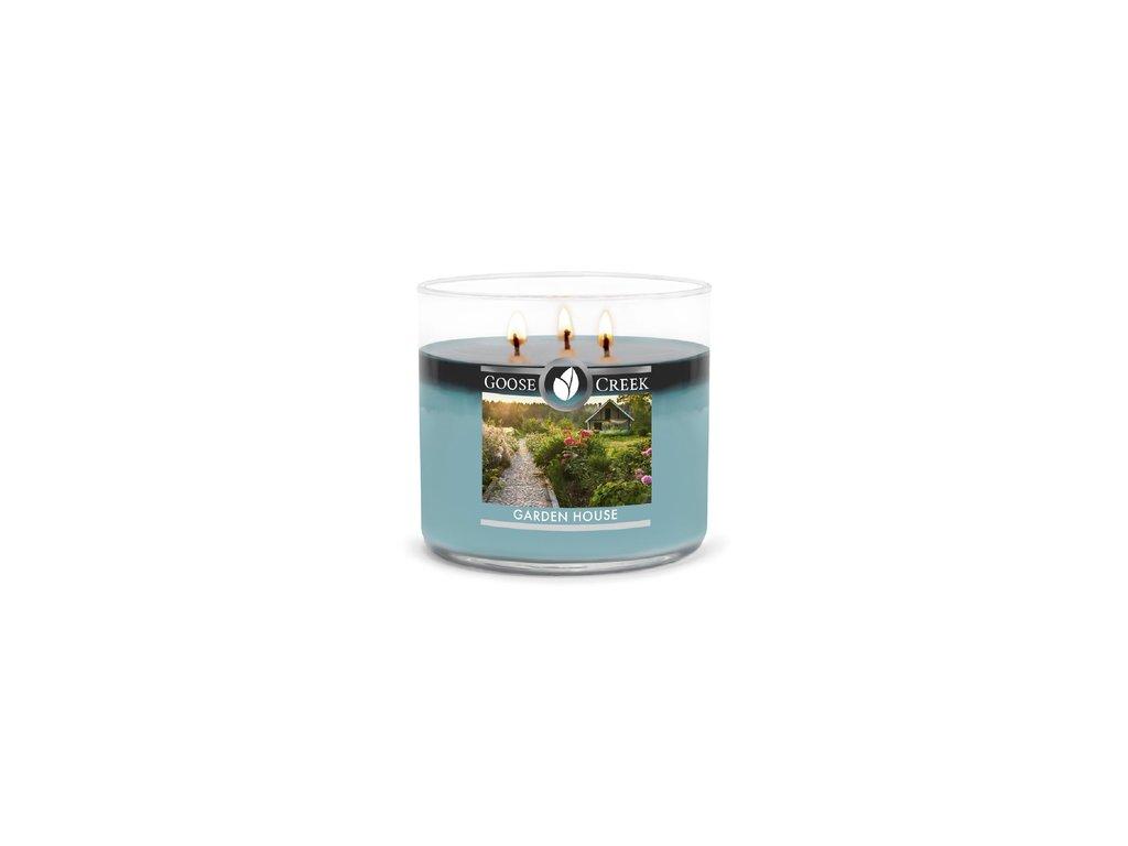 Goose Creek Candle svíčka Garden House, 411 g