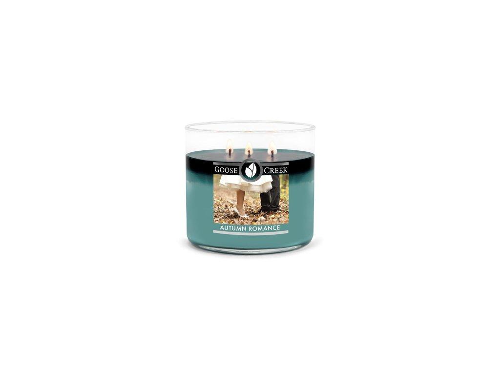 Goose Creek Candle svíčka Autumn Romance, 411 g