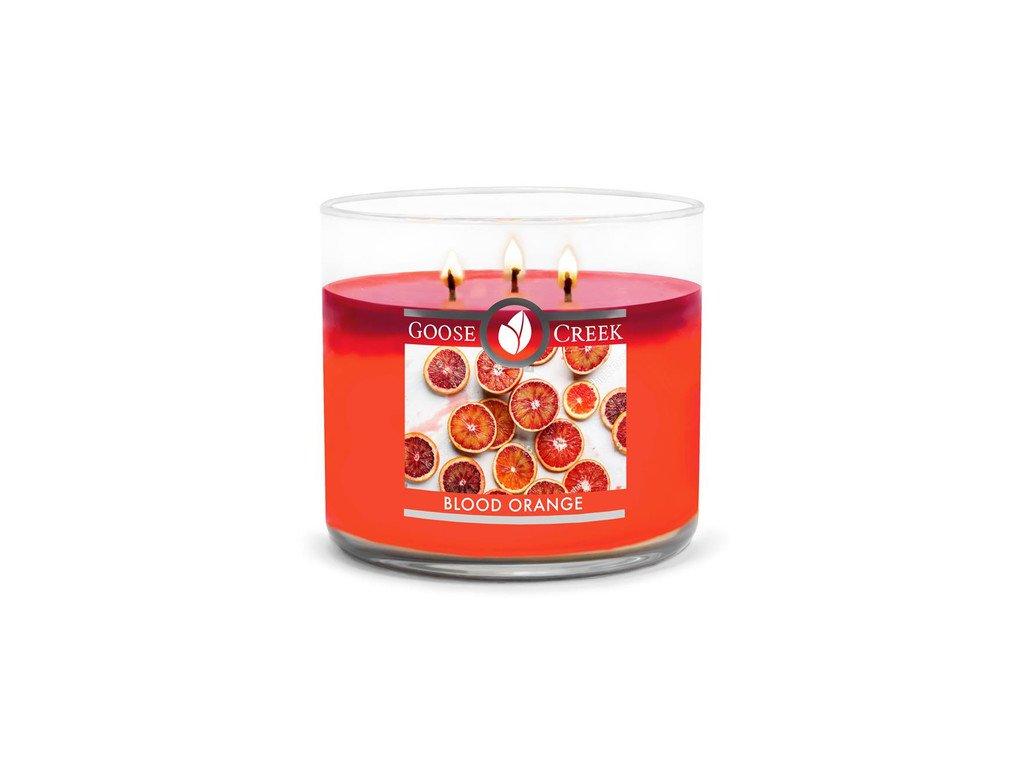 Goose Creek Candle svíčka Blood Orange, 411 g