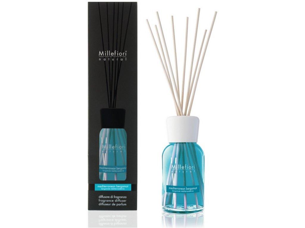 Millefiori Natural Mediterranem Bergamot aroma difuzér 100 ml