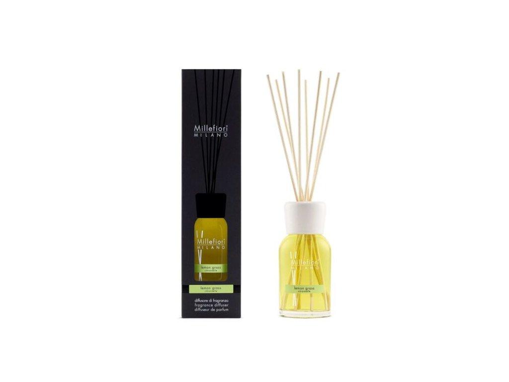 Millefiori Natural Lemon Grass aroma difuzér 100 ml
