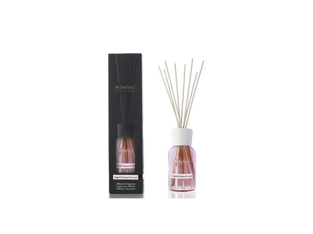 Millefiori Natural Magnolia Blossom & Wood aroma difuzér 250 ml