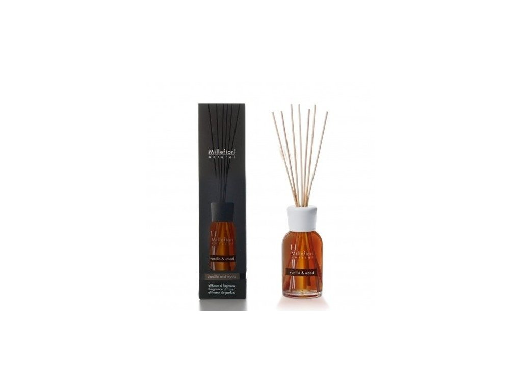 Millefiori Natural Vanilla & Wood aroma difuzér 250 ml