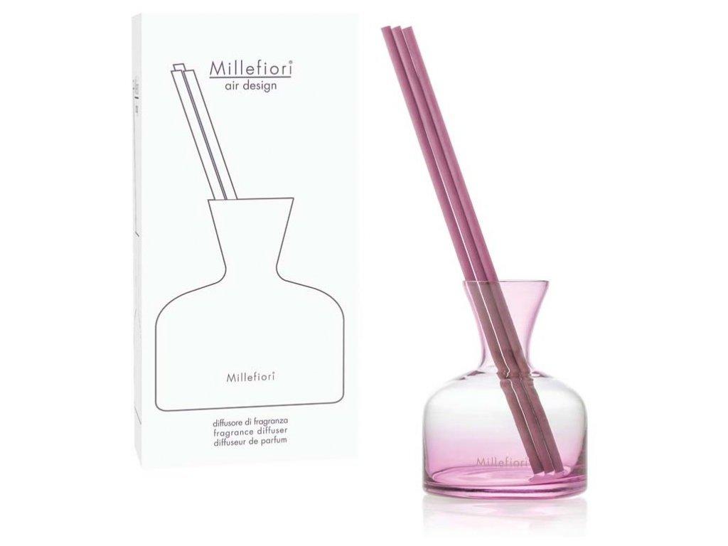 Millefiori Air Design difuzér sklo Váza Pink