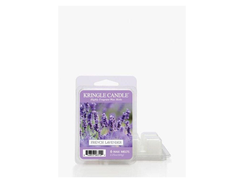 Kringle Candle French Lavender Vonný Vosk, 64 g
