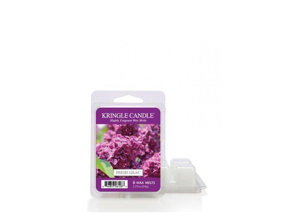 Kringle Candle Fresh Lilac Vonný Vosk, 64 g