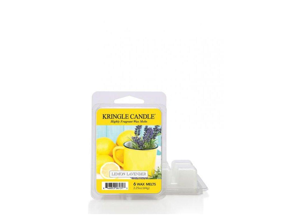 Kringle Candle Lemon Lavender Vonný Vosk, 64 g