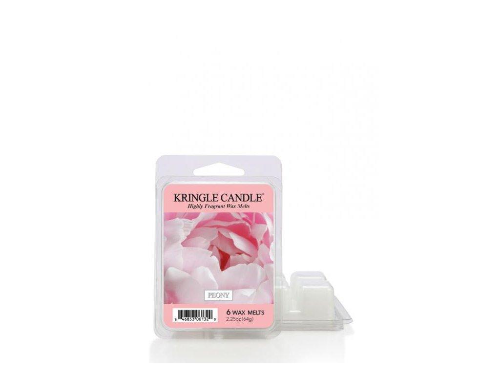 Kringle Candle Peony Vonný Vosk, 64 g