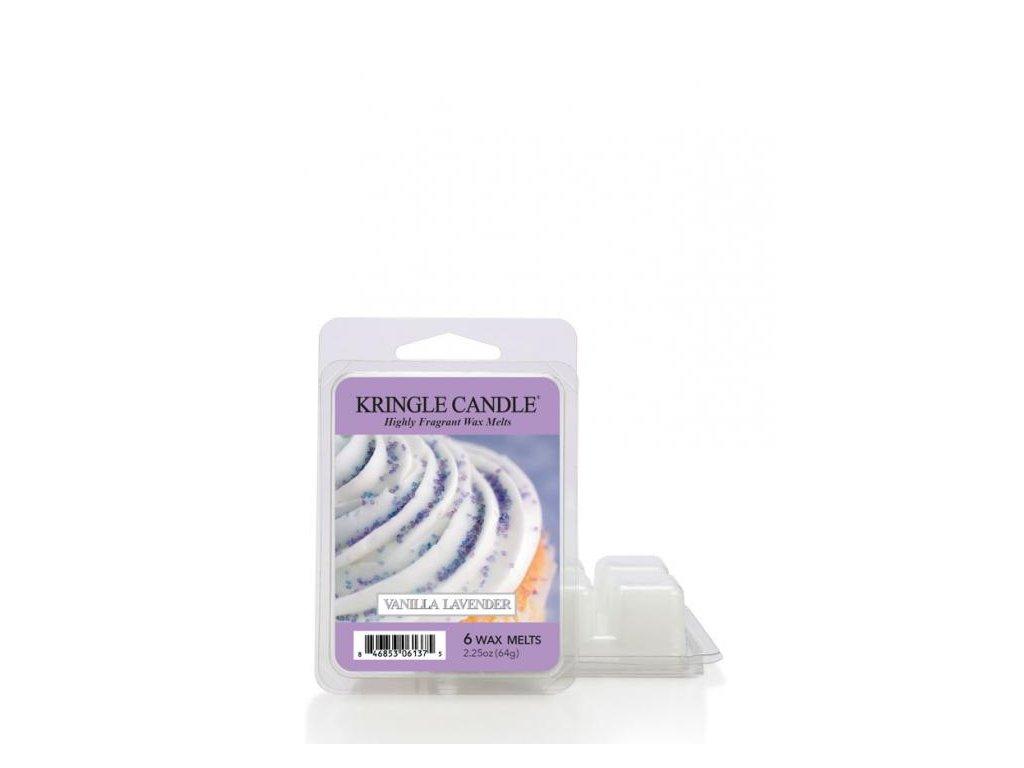 Kringle Candle Vanilla Lavender Vonný Vosk, 64 g
