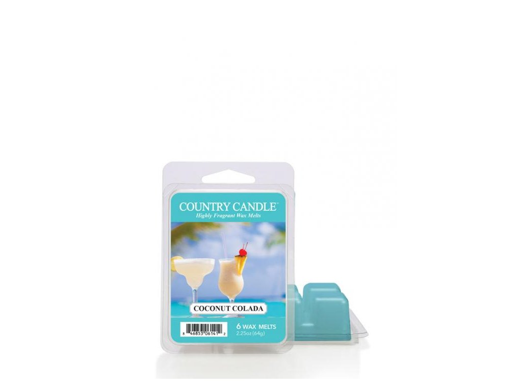 Country Candle Coconut Colada Vonný Vosk, 64 g