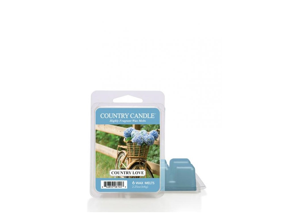 Country Candle Country Love Vonný Vosk, 64 g