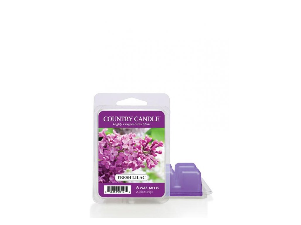 Country Candle Fresh Lilac Vonný Vosk, 64 g