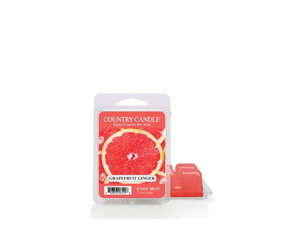 Country Candle Grapefruit Ginger Vonný Vosk, 64 g