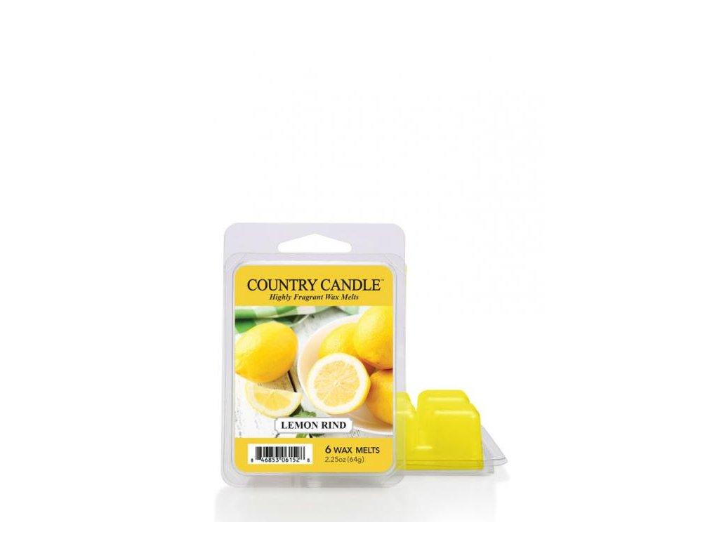 Country Candle Lemon Rind Vonný Vosk, 64 g