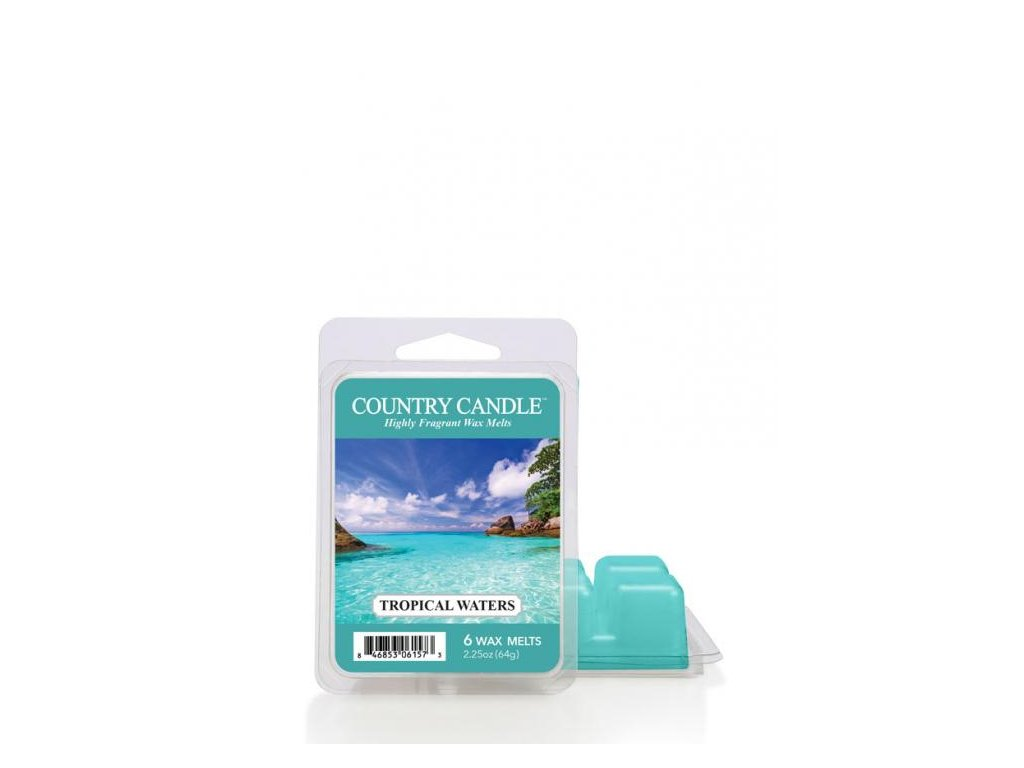 Country Candle Tropical Waters Vonný Vosk, 64 g