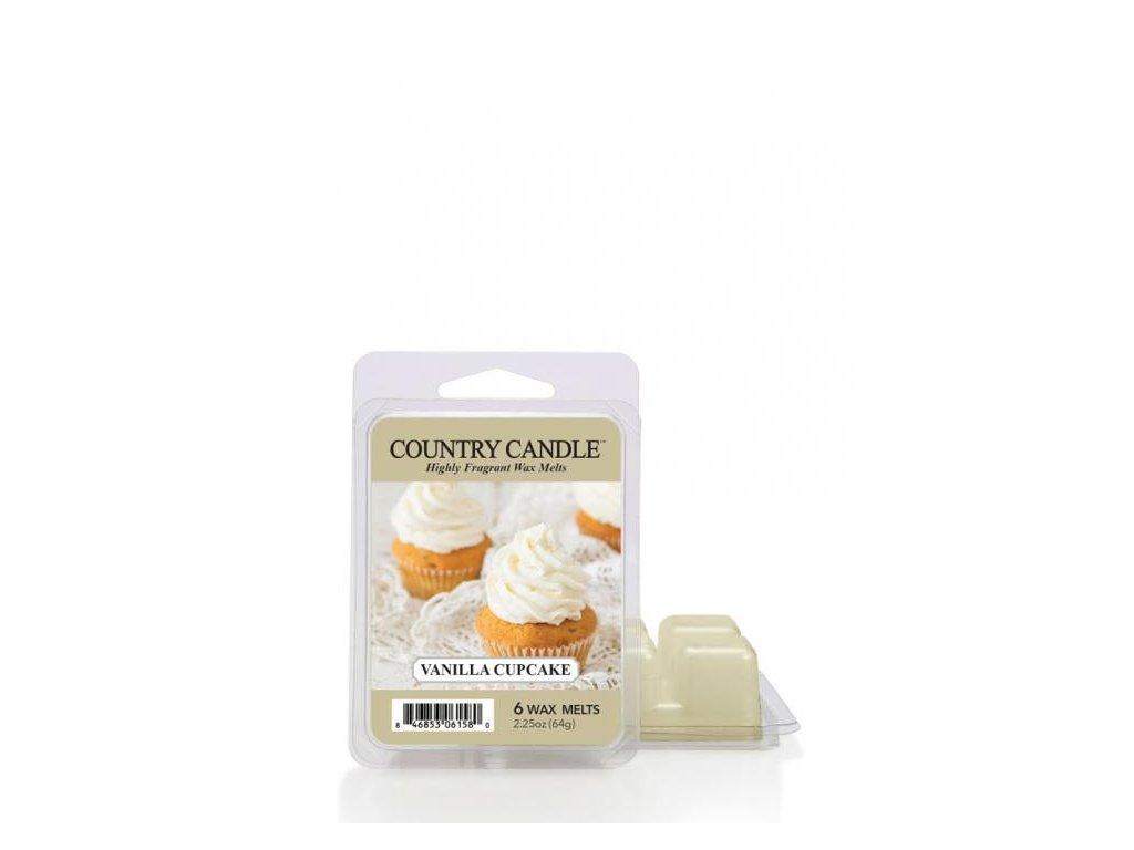 Country Candle Vanilla Cupcake Vonný Vosk, 64 g