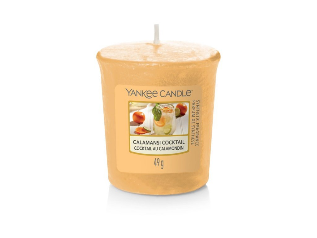 Yankee Candle Vonná Svíčka Votivní Calamansi Cocktail, 49 g
