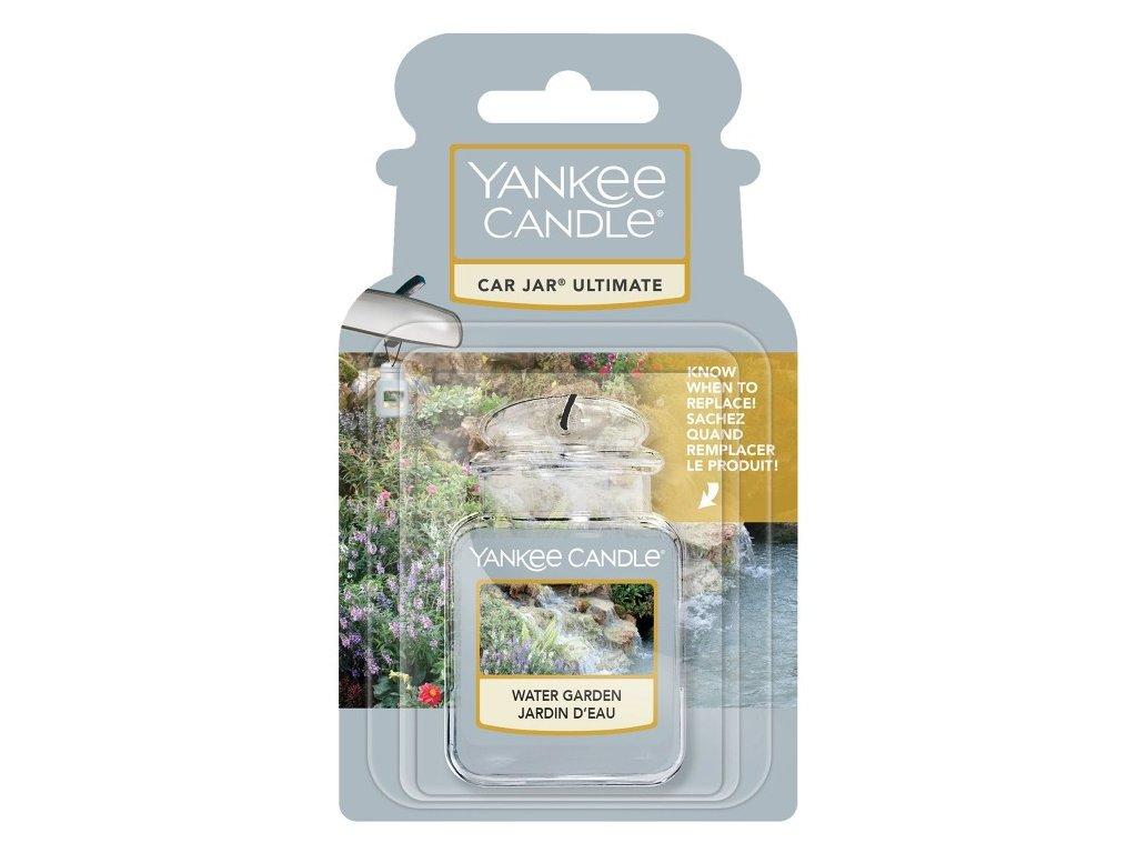 Yankee Candle Water Garden Gelová aroma visačka do auta, 1 ks SLEVA