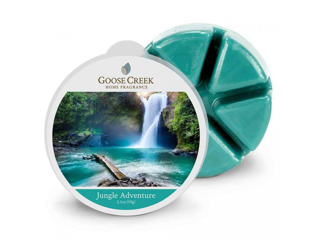 Goose Creek Candle Vonný Vosk Dobrodružství v džungli - Jungle Adventure, 59 g