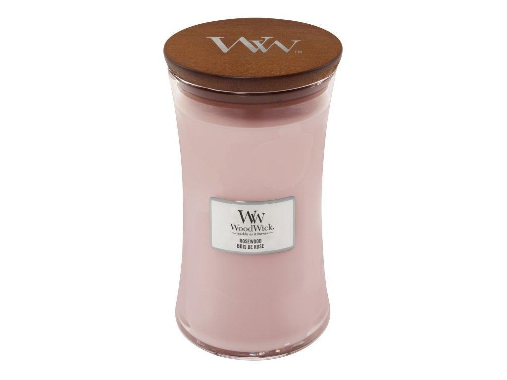 WoodWick Svíčka Rosewood váza velká, 609,5 g