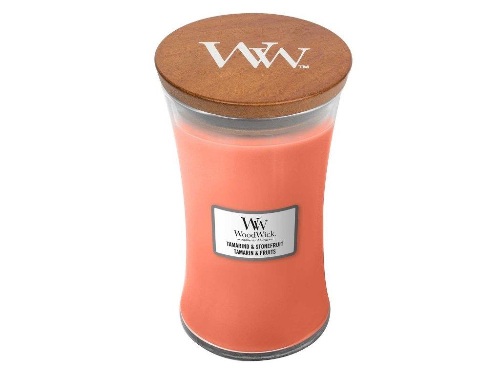 WoodWick Svíčka Tamarind & Stonefruit váza velká, 609,5 g