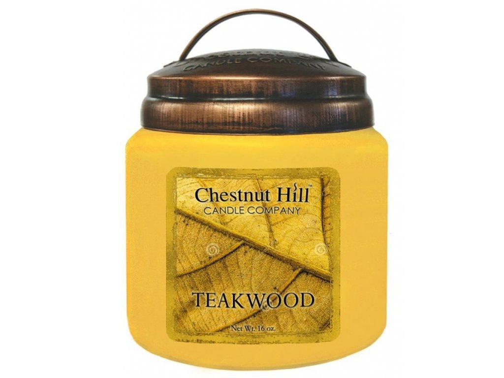 Chestnut Hill Candle svíčka Teakové dřevo - Teakwood, 454 g
