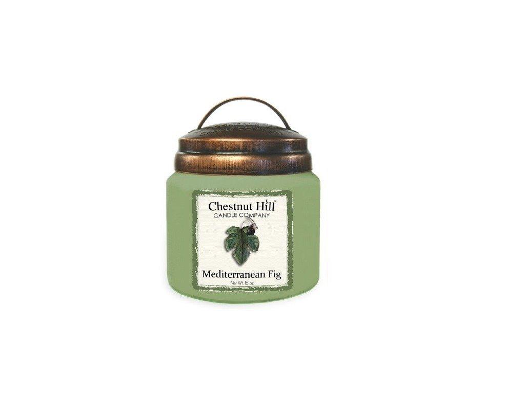 Chestnut Hill Candle svíčka Středomořský fík - Mediterranean Fig, 454 g