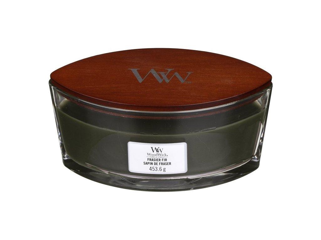 WoodWick Svíčka loď Frasier Fir, 453 g