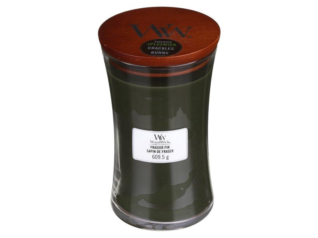 WoodWick Svíčka Frasier Fir váza velká, 609,5 g