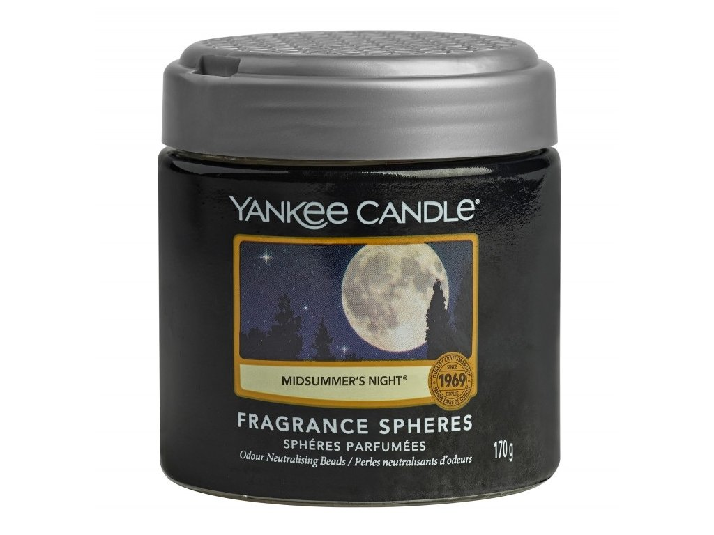 Yankee Candle Midsummes´s Night Voňavé perly Spheres, 170 g