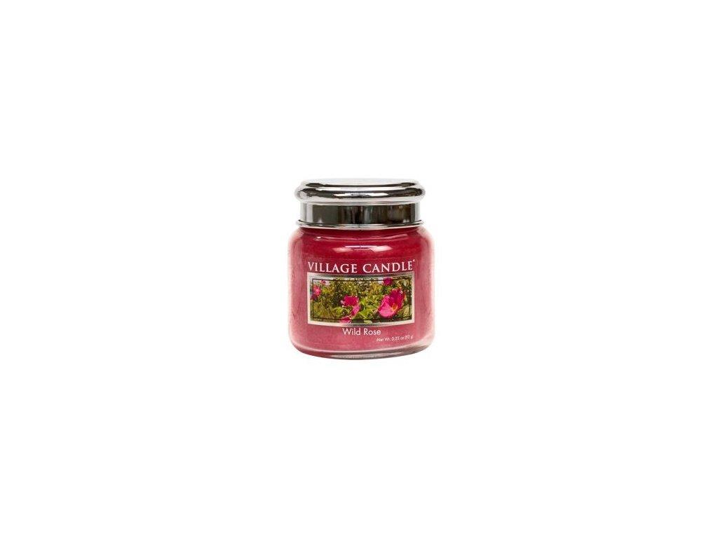 Village Candle Vonná svíčka Divoká Růže - Wild Rose, 92 g