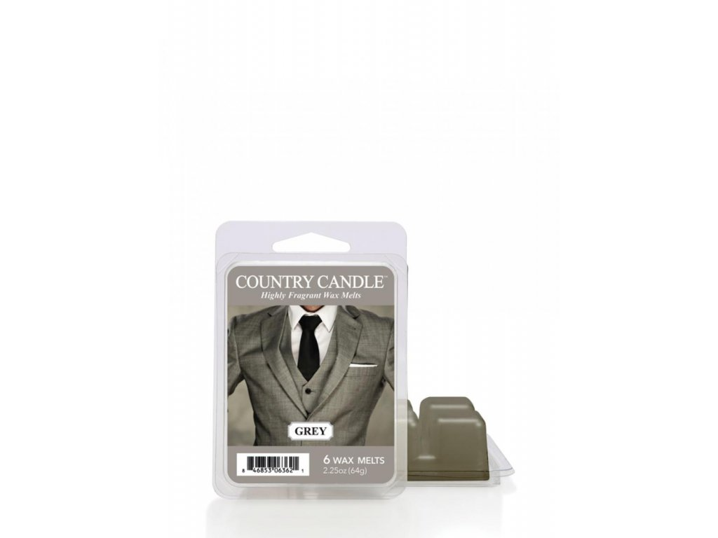 Country Candle Grey Vonný Vosk, 64 g