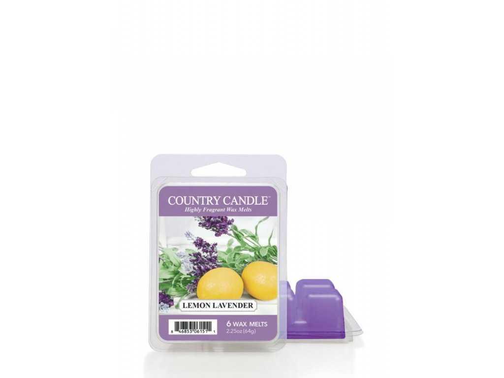 Country Candle Lemon Lavender Vonný Vosk, 64 g