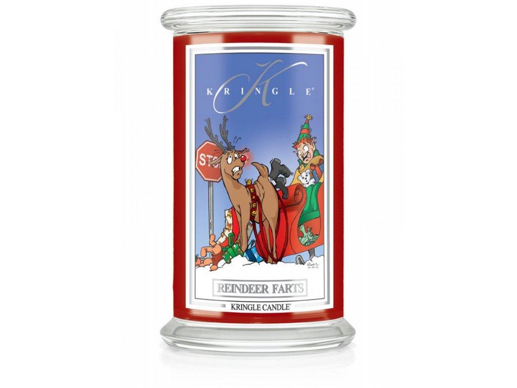 Kringle Candle svíčka Reindeer Farts, 623 g