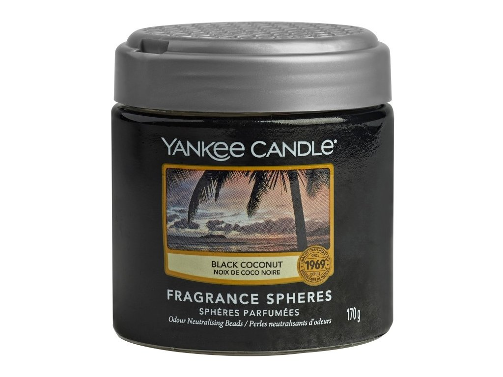 Yankee Candle Black Coconut Voňavé perly Spheres, 170 g