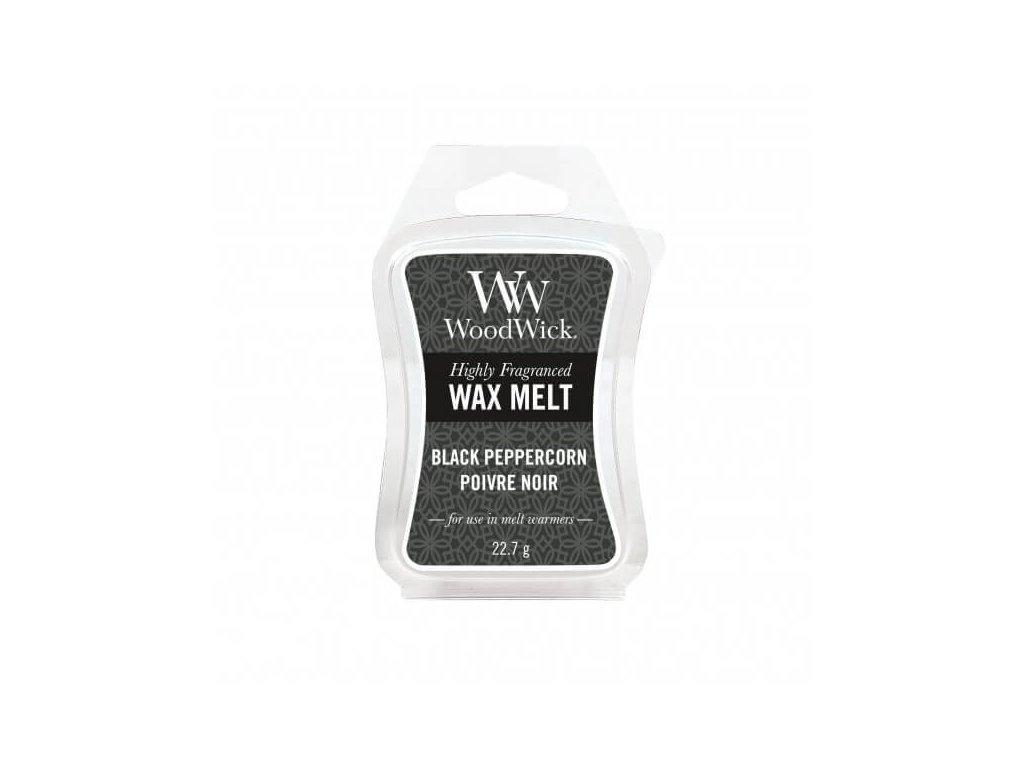 WoodWick Vonný vosk do aromalampy Black Peppercorn, 22,7 g