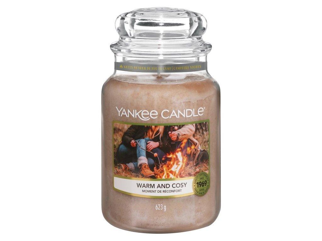 Yankee Candle Vonná Svíčka Warm & Cosy classic velký, 623 g