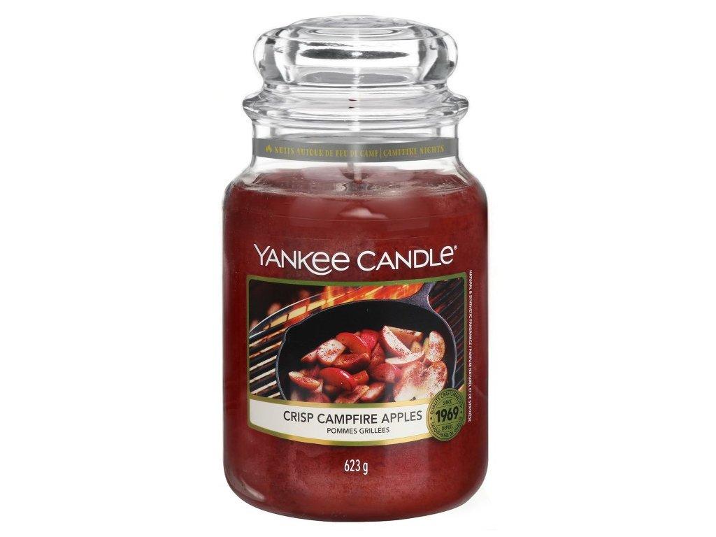 Yankee Candle Vonná Svíčka Crisp Campfire Apples classic velký, 623 g