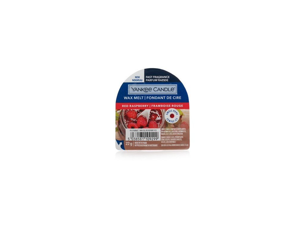 Yankee Candle - Red Raspberry Vosk do aromalampy nový 2021, 22 g