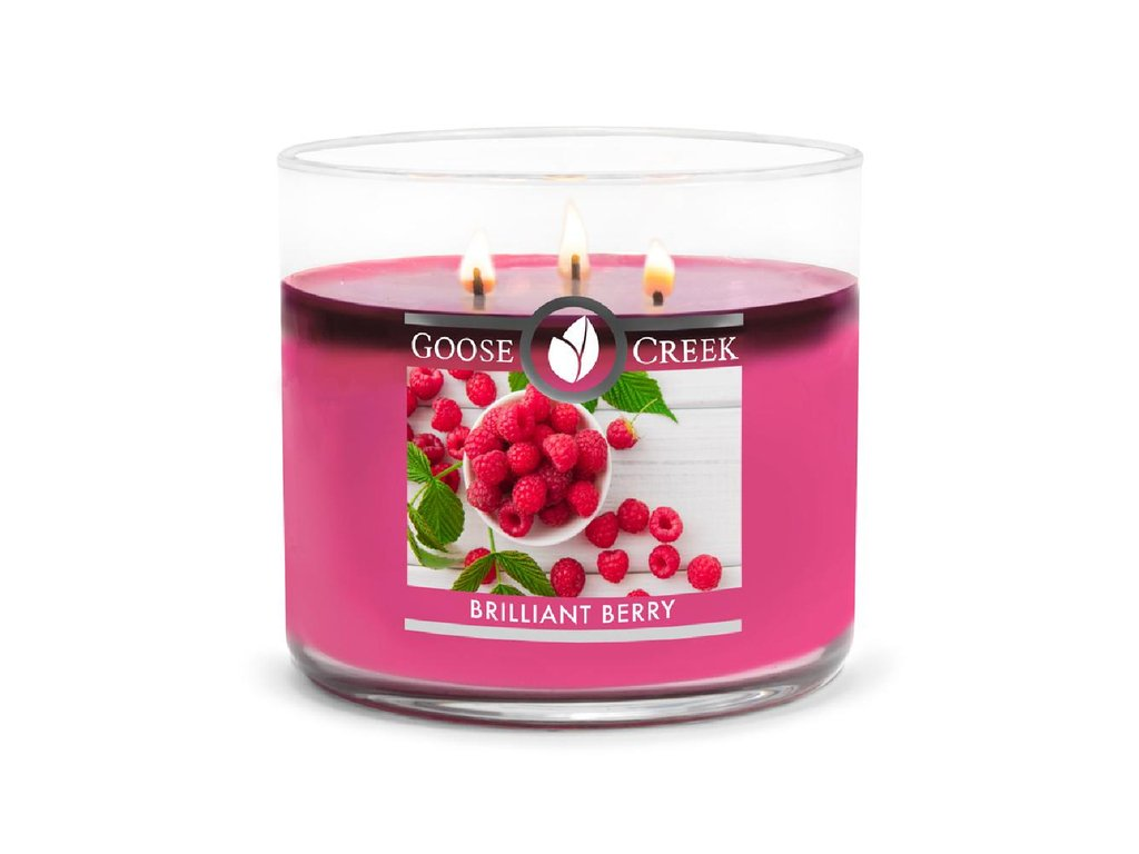 Goose Creek candle svíčka Brilliant Berry, 411 g
