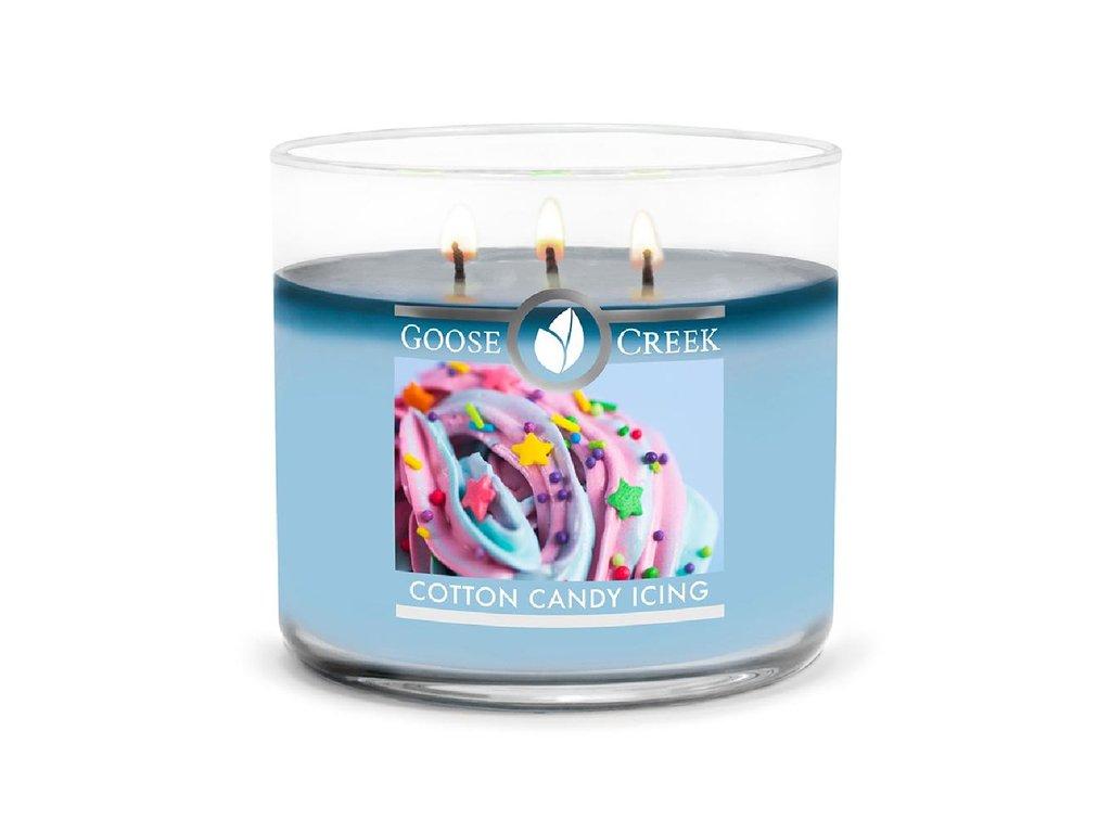 Goose Creek Candle svíčka Cotton Candy Icing, 411 g