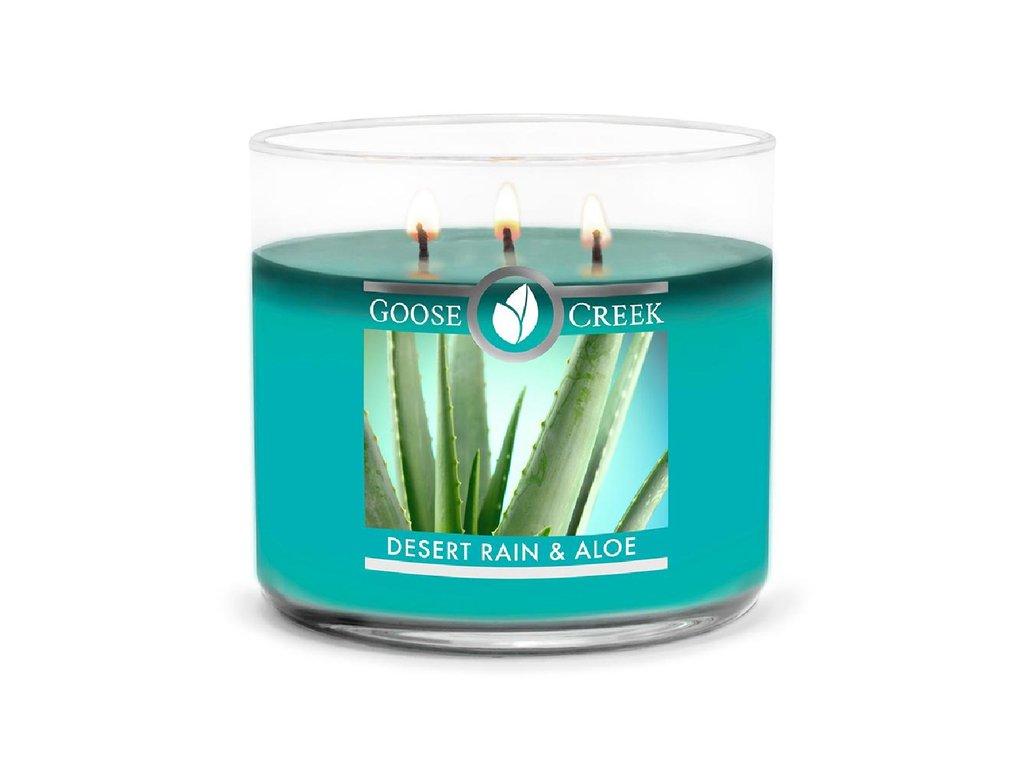 Goose Creek Candle svíčka Desert Rain & Aloe, 411 g