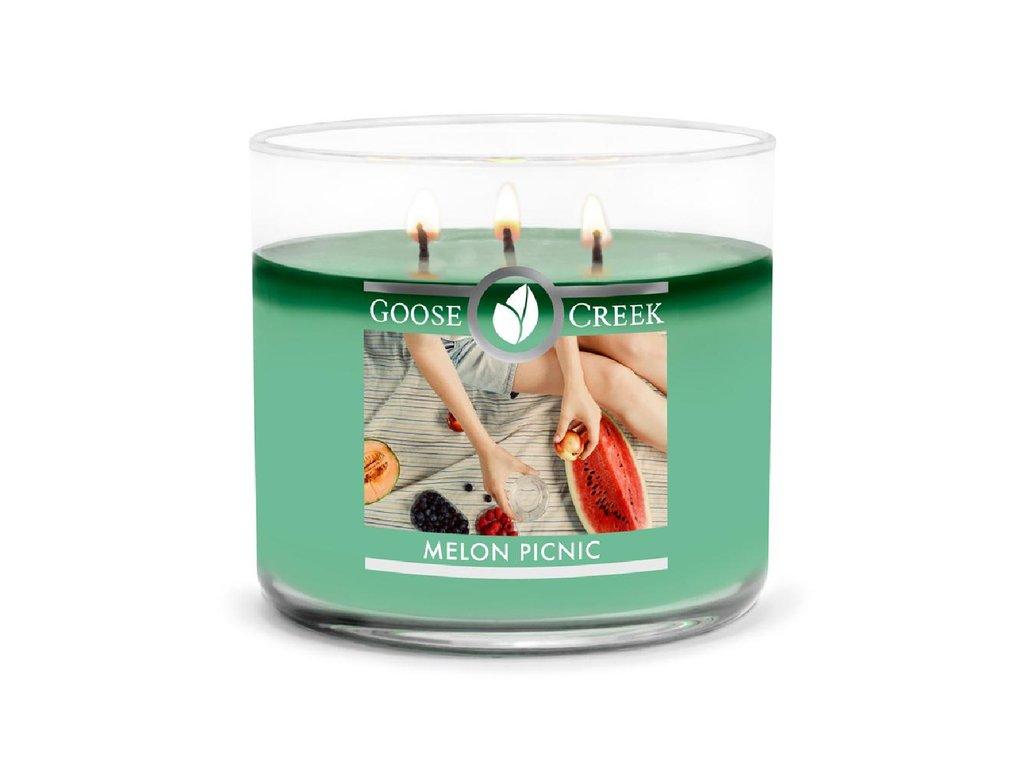 Goose Creek Candle svíčka Melon Picnic, 411 g