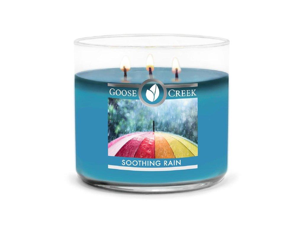 Goose Creek Candle svíčka Soothing Rain, 411 g