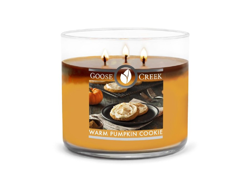Goose Creek Candle svíčka Warm Pumpkin Cookie, 411 g