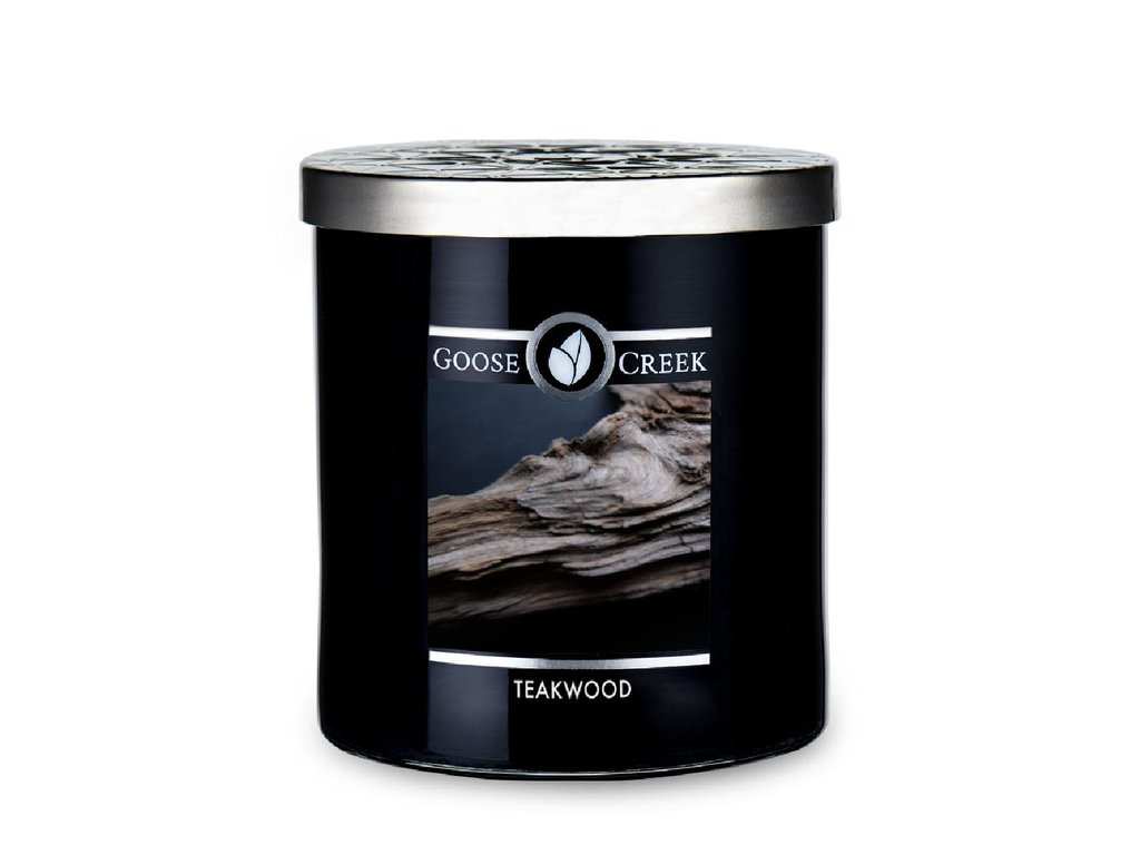 Goose Creek Candle svíčka Teakwood , 453 g