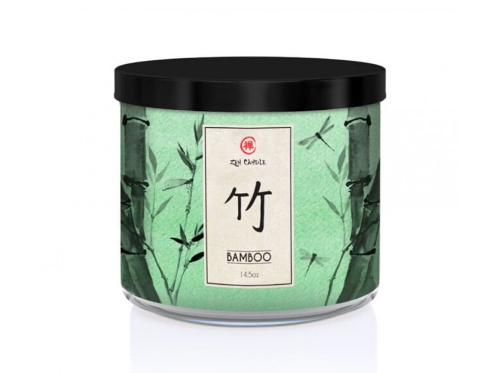 Kringle Candle Zen Bamboo svíčka, 411 g