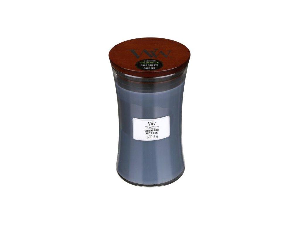 WoodWick Svíčka Evening Onyx váza velká, 609,5 g