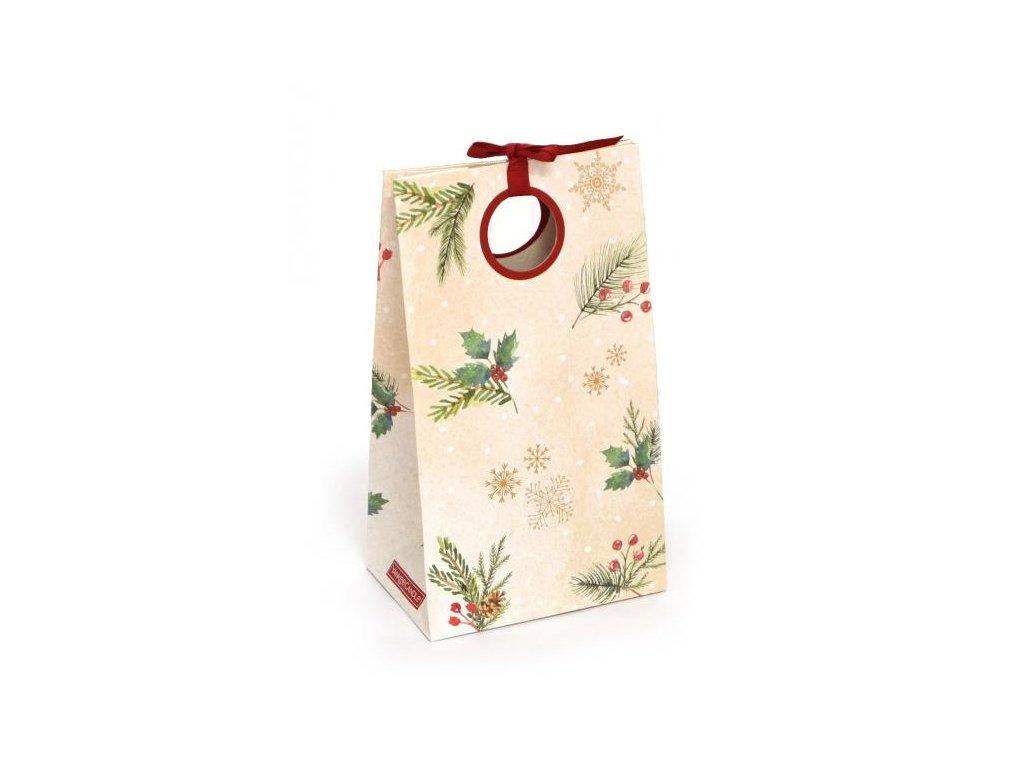 Yankee Yankee Candle Vánoční dárková taška na velkou/střední svíčku 1 ks