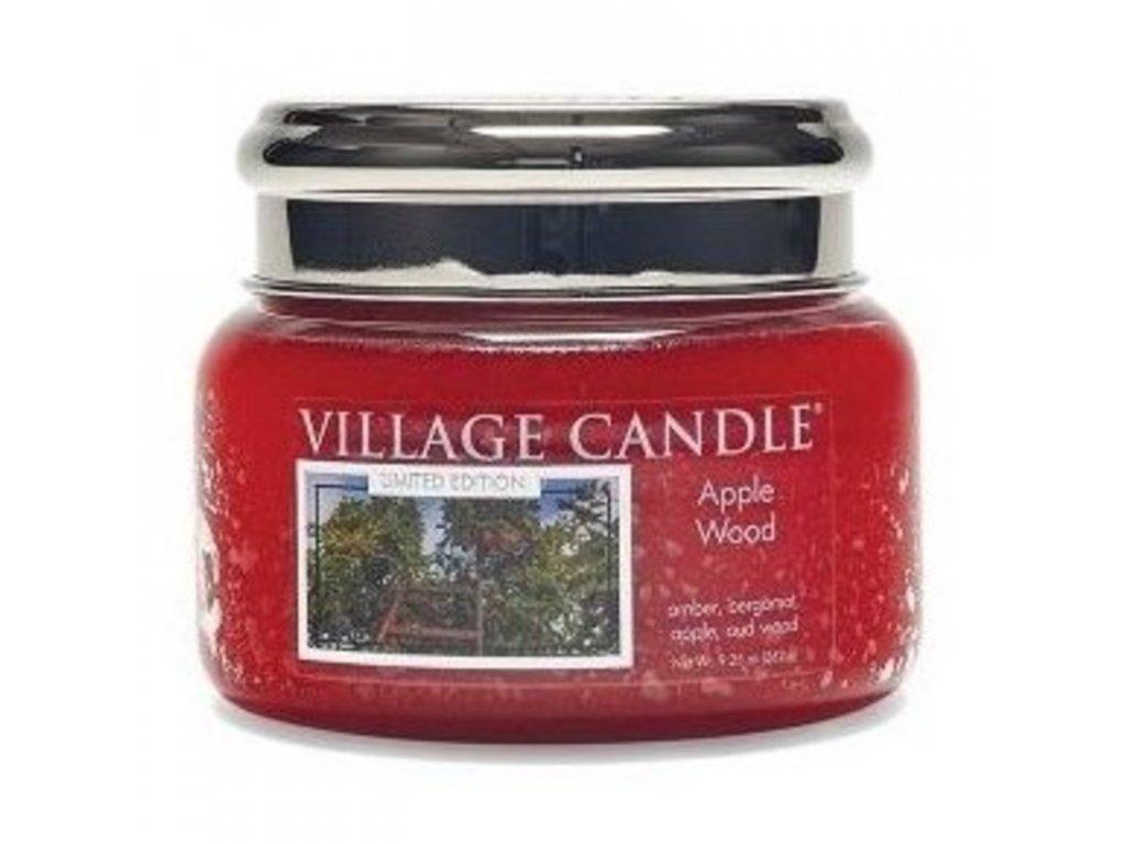 Village Candle Vonná svíčka Jabloňové dřevo - Apple Wood, 262 g